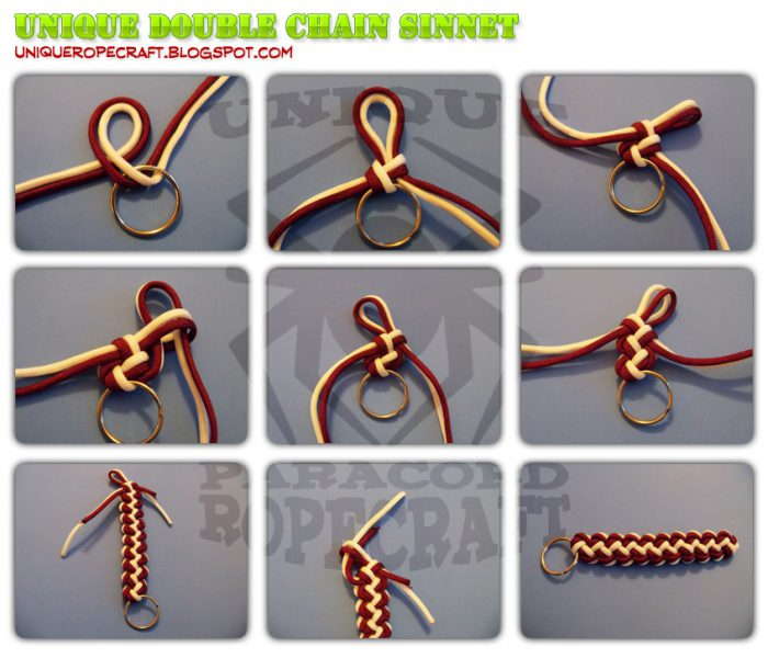 Unique Double Chain Sinnet. This tutorial may be reproduced and distributed as long as no changes are made to the original document. Copyright © 2010. SyberLabs Inc.
